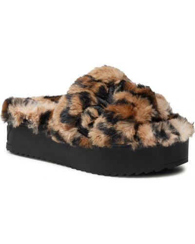Beżowe sandały Dkny