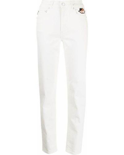 Джинсовые прямые джинсы - белые Fiorucci