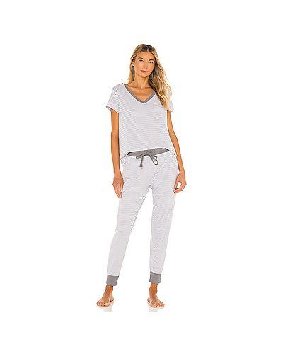 Пижамный шелковый серый купальник эластичный Splendid