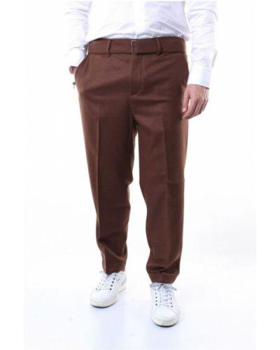 Brązowe spodnie Messagerie
