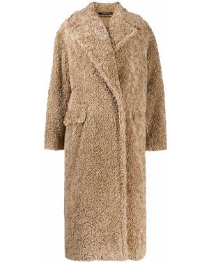 Длинное пальто на пуговицах Tagliatore