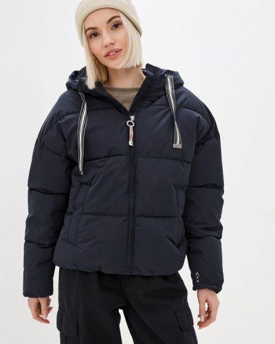 Утепленная куртка - синяя Luhta