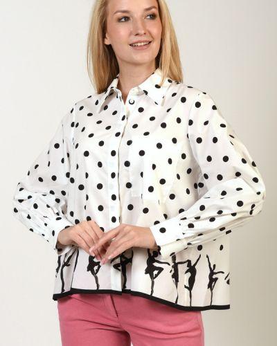 Хлопковая блузка Luisa Cerano