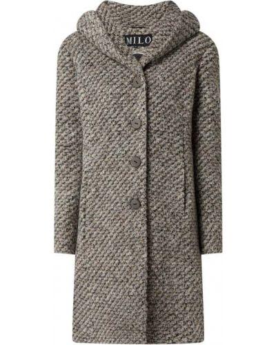 Beżowy płaszcz z kapturem Milo Coats