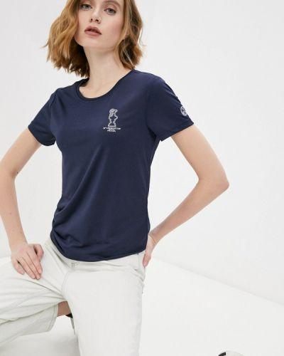 Синяя спортивная футболка North Sails