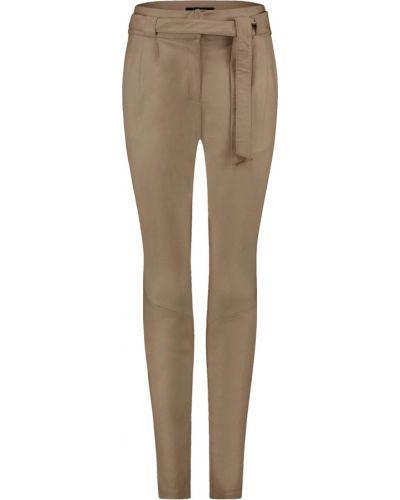 Beżowe spodnie Ibana