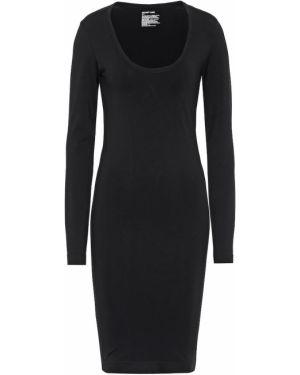 Платье стрейч черное Helmut Lang