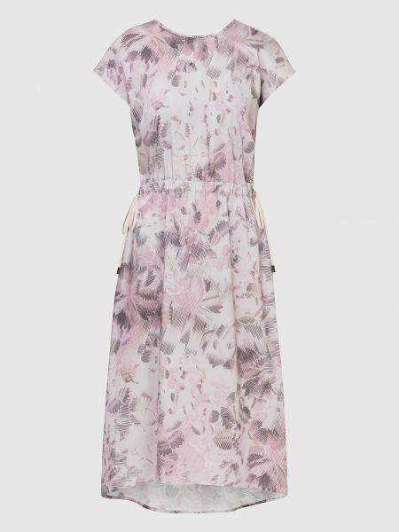 Розовое платье миди Peserico