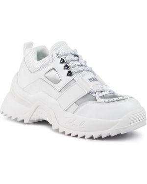 Półbuty biały Karl Lagerfeld