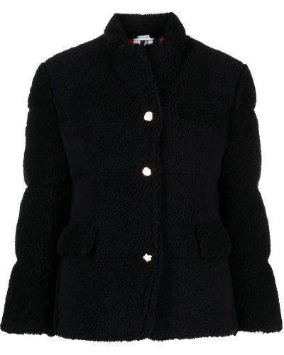Синее пальто с воротником Thom Browne