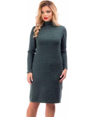 Платье трикотажное из вискозы Liza Fashion