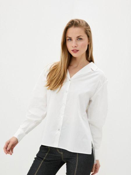 Белая блузка с длинным рукавом Solou
