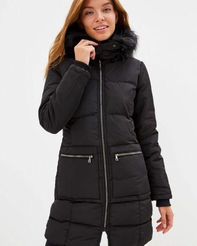 Черная утепленная куртка Giorgio Di Mare