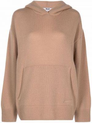 Пуловер классический - бежевый Msgm
