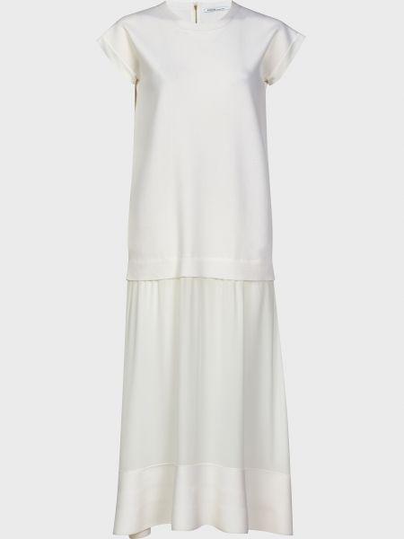 Шерстяное платье - белое Agnona