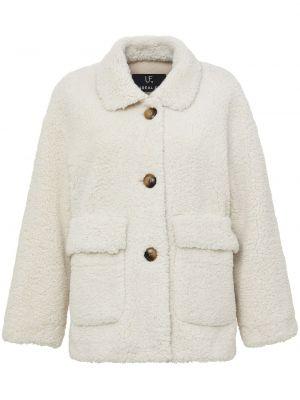 Biała kurtka Unreal Fur