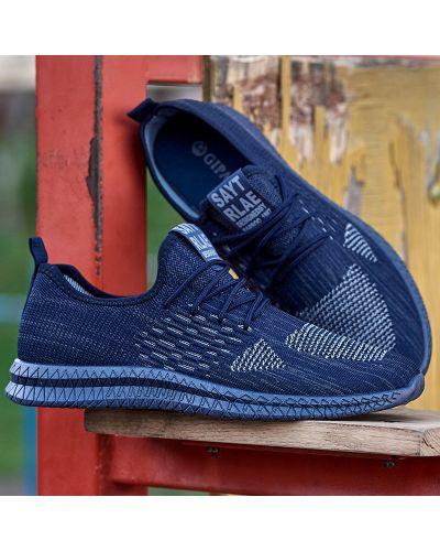 Текстильные кроссовки - синие Gipanis