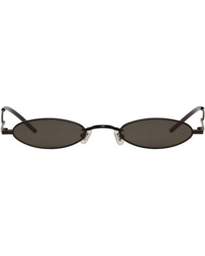 Черные солнцезащитные очки прозрачные Gentle Monster