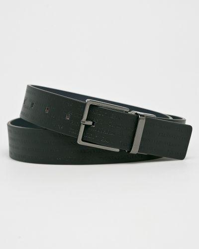 Черные джинсы кожаный Trussardi Jeans