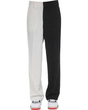 Czarne spodnie z paskiem Jaded London