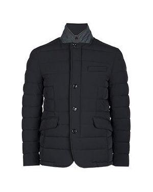 Куртка демисезонная черная Moorer
