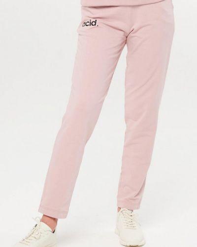 Розовые спортивные брюки Jolifashn