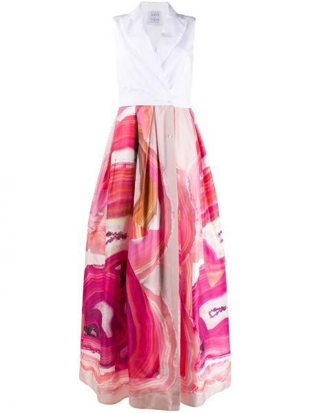 Платье с запахом приталенное Sara Roka