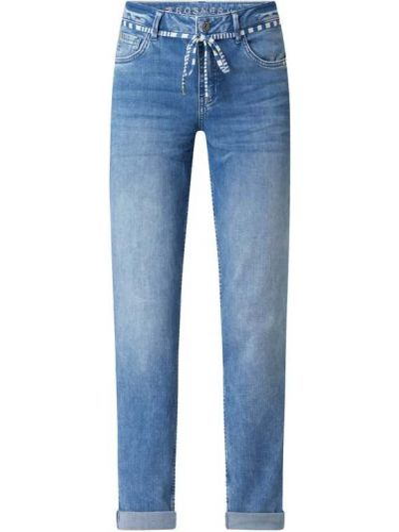 Niebieskie jeansy bawełniane Rosner