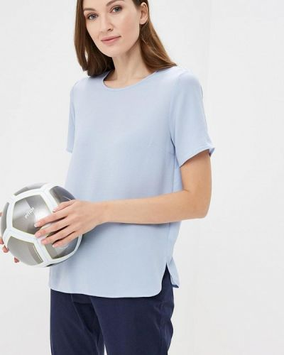 Голубая блузка Iwie