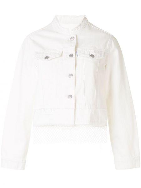 Джинсовая куртка с бахромой на пуговицах Portspure