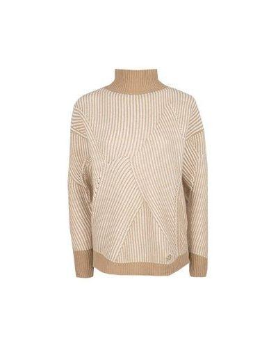 Коричневый свитер Blumarine