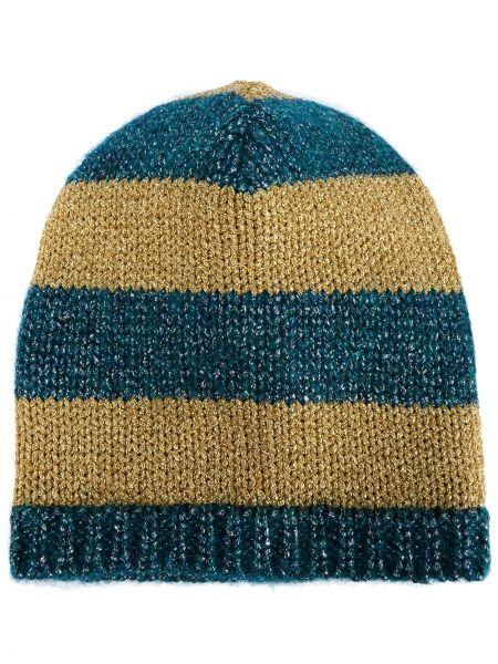 Trykotowy kapelusz zimowy Gucci