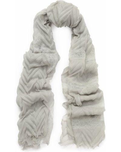 Серый платок с бахромой Vintage Shades