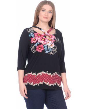 Блузка в полоску с цветочным принтом Dream World