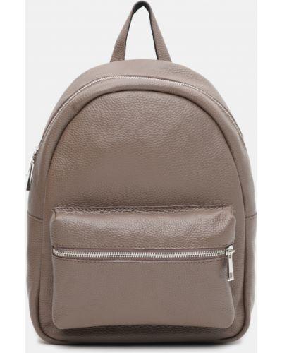Кожаный рюкзак - коричневый Palmera