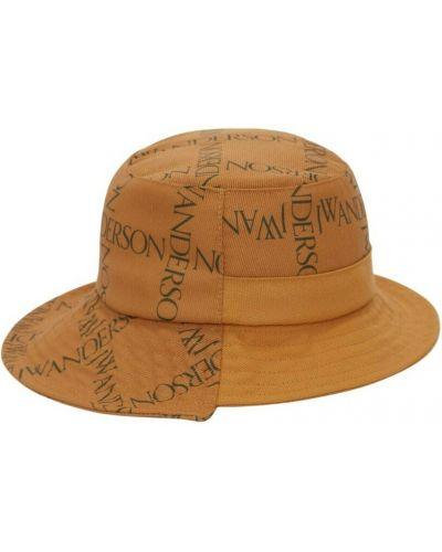 Żółta czapka Jw Anderson