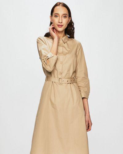 Платье мини с карманами однотонное Vila