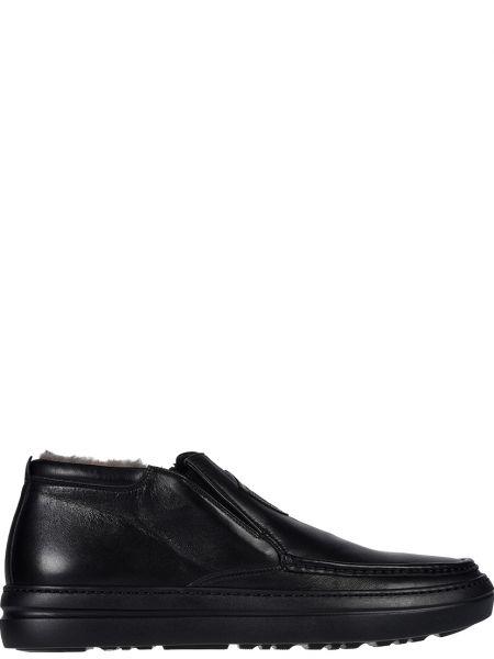 Кожаные ботинки - черные Mirage