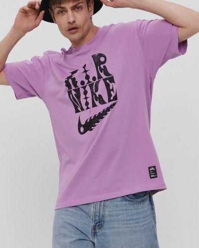 T-shirt bawełniany z printem Nike Sportswear