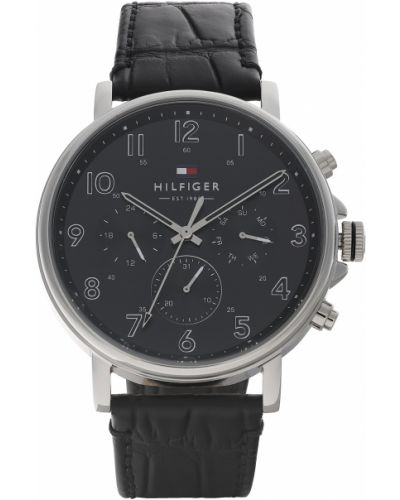 Zegarek - czarny Tommy Hilfiger