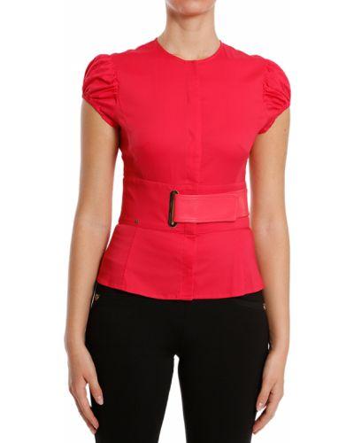 Блузка красная Elisabetta Franchi
