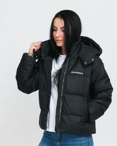 Пуховая куртка - черная Converse