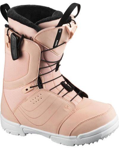 Белые ботинки с жемчугом Salomon