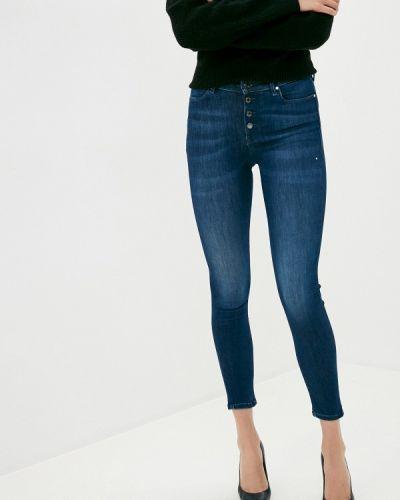 Синие джинсы-скинни узкого кроя Guess Jeans