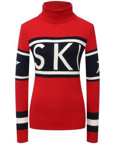 Шерстяной свитер - красный Perfect Moment