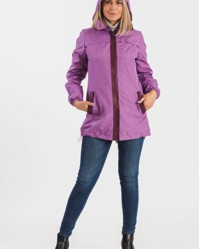 Куртка с капюшоном фиолетовый бордовый Lacywear