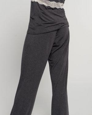 Spodnie z wzorem Kobza Dorina