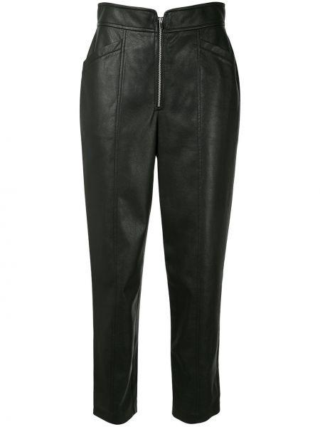 Кожаные брюки - черные Rebecca Taylor