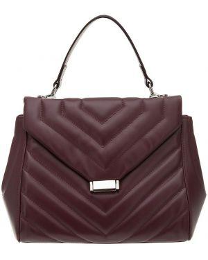 Кожаная сумка стеганая Afina