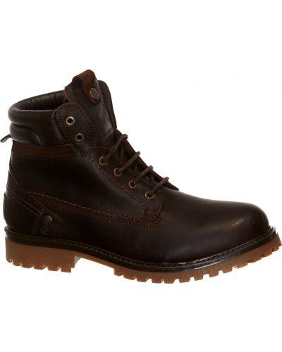 Ботинки с мехом из нубука Wrangler